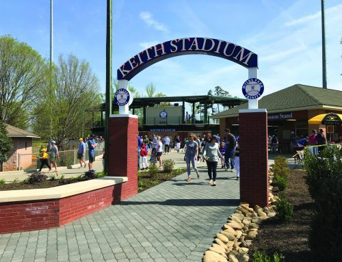Myers Park Traditional Little League Entry Plaza and LL Baseball Stadium